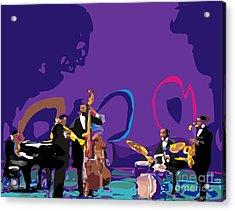 Miles Davis Quintet Acrylic Print