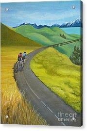 Miles To Go Acrylic Print by Kris Crollard