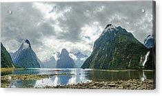 Milford Sound Panorama Acrylic Print