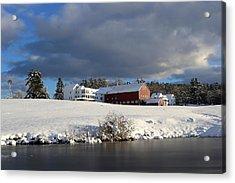 Milford Winter Acrylic Print