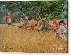 Acrylic Print featuring the digital art Milita On The Flank by Randy Steele