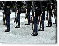 Military Formation Acrylic Print by Karol Livote