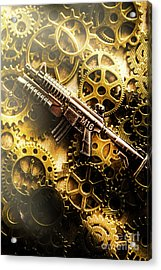 Military Mechanics Acrylic Print by Jorgo Photography - Wall Art Gallery