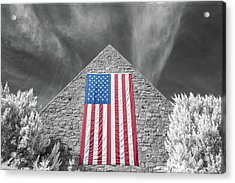 Acrylic Print featuring the photograph Military Vision 2 by Brian Hale