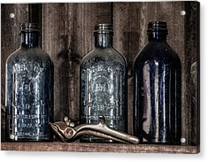 Milk Of Magnesia Bottles Acrylic Print