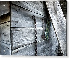 Milk Shed Acrylic Print