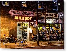 Milkboy - 1033 Acrylic Print