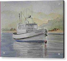 Milkshake Boat Acrylic Print