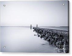 Milky Sea Acrylic Print