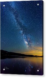 Acrylic Print featuring the photograph Milky Way 6 by Jim Thompson