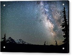 Acrylic Print featuring the photograph Milky Way At Mckenzie Pass by Cat Connor