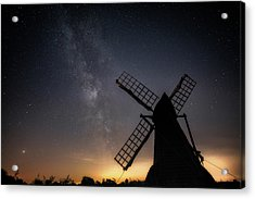 Acrylic Print featuring the photograph Milky Way At Wicken by James Billings