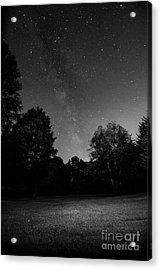 Milky Way Acrylic Print by Brian Jones