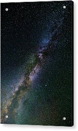 Acrylic Print featuring the photograph Milky Way Core by Bryan Carter