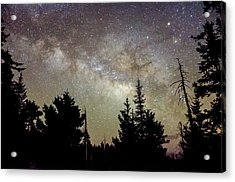Milky Way From Mt. Graham Acrylic Print