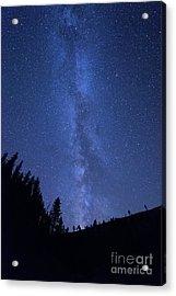 Milky Way Galaxy Acrylic Print by Juli Scalzi