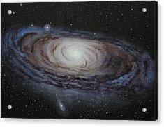 Milky Way Galaxy Acrylic Print by Shastina Ann-Wallace