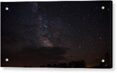 Acrylic Print featuring the photograph Milky Way by Gary Wightman