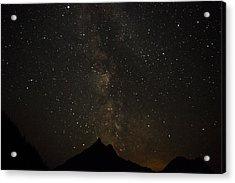 Milky Way, Glacier Nat'l Park Acrylic Print