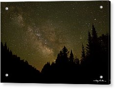 Milky Way In The Whites Acrylic Print