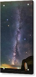 Milky Way Magic Acrylic Print by Darren White