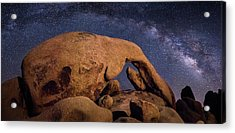 Milky Way Over Arch Rock Acrylic Print