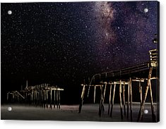 Milky Way Over Frisco Acrylic Print