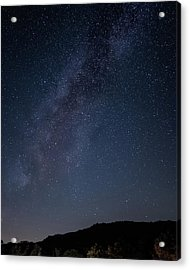 Milky Way Over Lake Henshaw Acrylic Print
