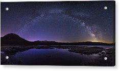 Milky Way Over Lonesome Lake Acrylic Print