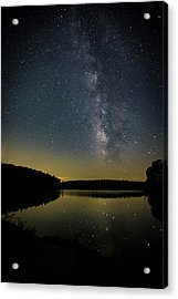 Milky Way Over Price Lake Acrylic Print