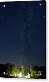 Milky Way Over Vic's Acrylic Print by Butch Lombardi