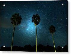 Milky Way Planet Acrylic Print