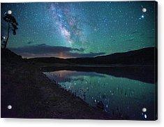 Milky Way Reflections Acrylic Print