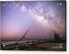 Milky Way Roots Acrylic Print by Robert Loe