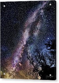 Milky Way Splendor Acrylic Print
