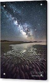 Milky Way Tide Pool Acrylic Print by Benjamin Williamson