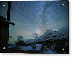 Milky Way With Airglow, Over Guanella Pass Acrylic Print