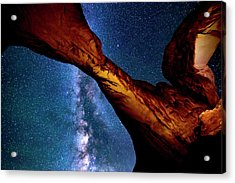Milkyway At Arches Acrylic Print