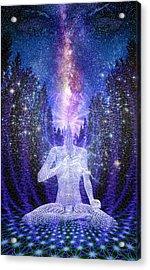 Milkyway Awakening Acrylic Print by Robby Donaghey