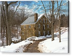 Mill - Cooper Grist Mill Acrylic Print