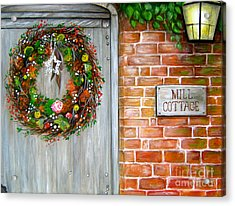 Mill Cottage Acrylic Print by Patrice Torrillo