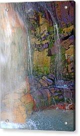 Mill Creek Falls 1 Acrylic Print