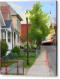 Mill Street Acrylic Print