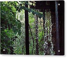 Mill Water Acrylic Print by Michael L Kimble