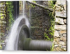 Mill Wheel Acrylic Print