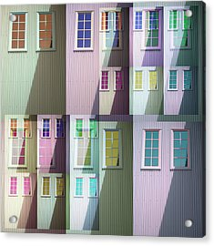 Mill Works Windows Midlothian Va Acrylic Print