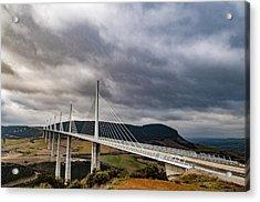 Millau Viaduct Acrylic Print