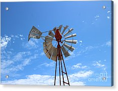 Acrylic Print featuring the photograph Milled Wind by Stephen Mitchell