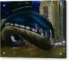 Millennium Park - Chicago Acrylic Print