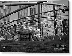 Millennium Park IIi Visit Www.angeliniphoto.com For More Acrylic Print by Mary Angelini